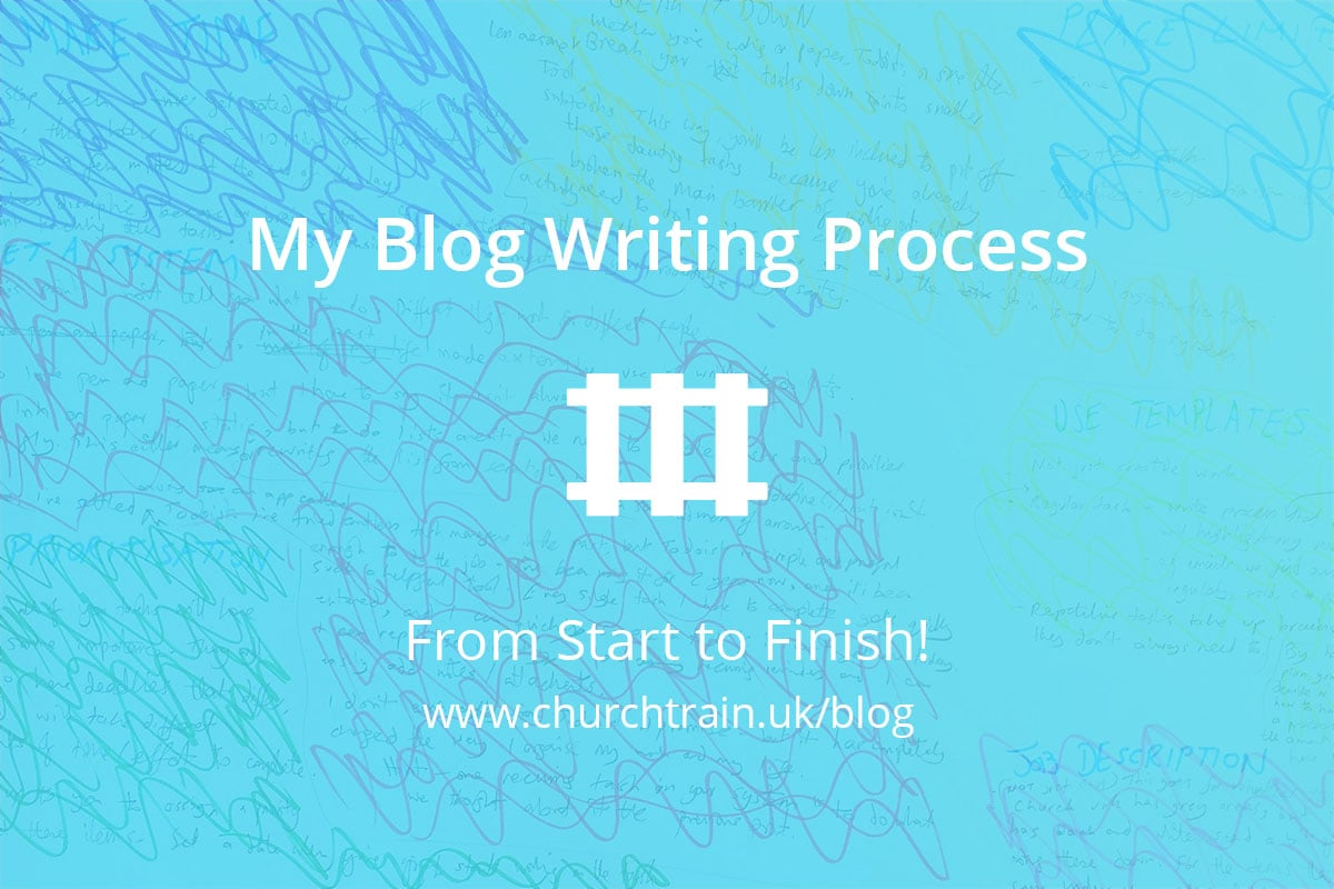 how to start and finish a blog post